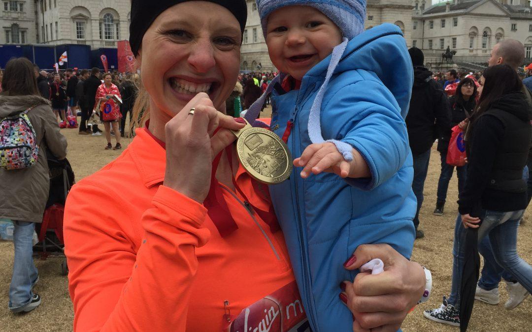New Mummy's Journey To Run Her First Marathon Ever
