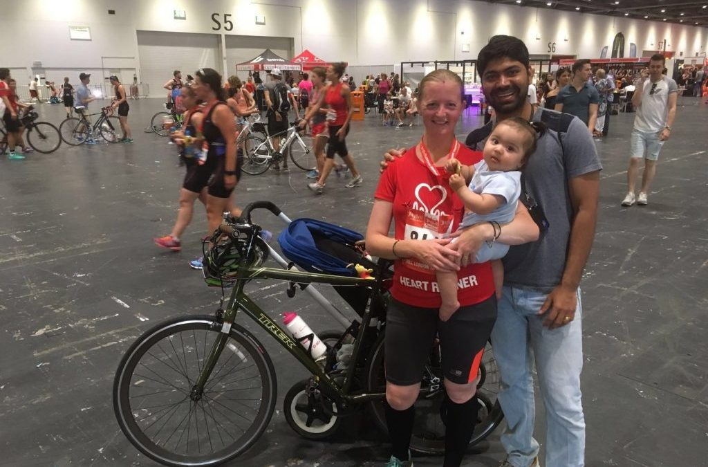 How This Mummy Completed Her 1st Triathlon When Her Baby Was 8 Months Young?