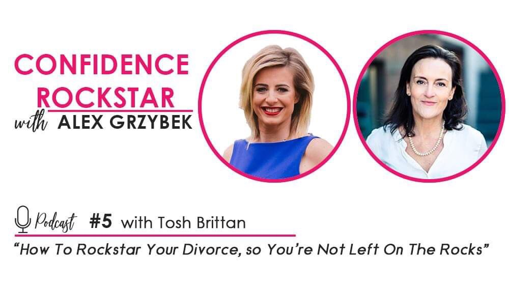 Episode #5: How To Rockstar Your Divorce or a Breakup, So You're Not Left on the Rocks – with Tosh Brittan